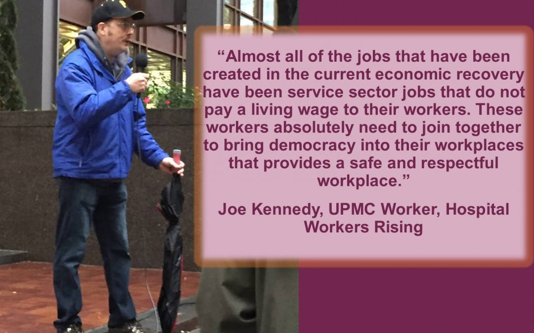 Joe Kennedy, UPMC Worker