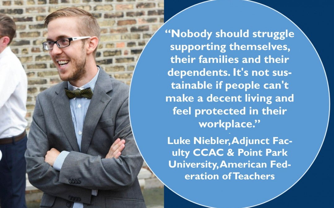 Luke Niebler, CCAC Adjunct